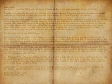Letter, Exhibit B, transcription