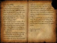 Letter, Exhibit A, transcription