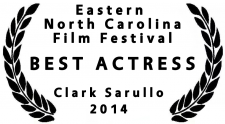 Clark Sarullo, Best Actress for Sacrifice at ENCFF